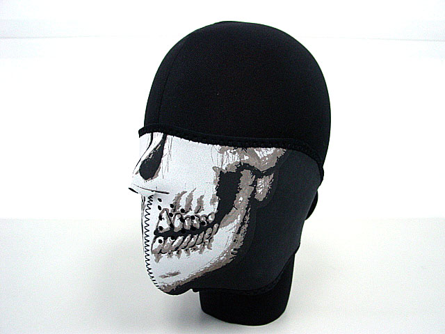 Navy Seal Army Skull Neoprene Half Face Tactical Military Protector Mask
