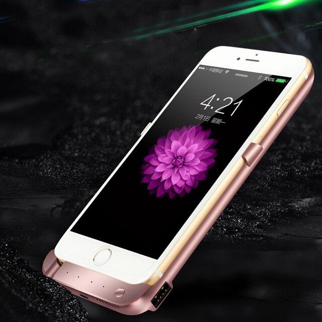 Kinganda External 7000mAh Smart USB Battery Charger Case For iPhone 6 6s 7 8 Plus