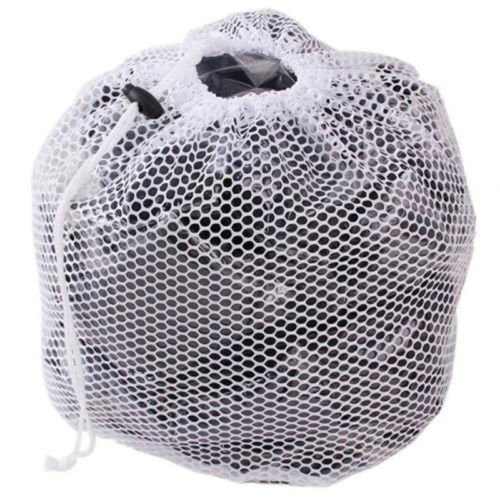 Hot Family Coarse Practical Drawstring Laundry Net Mesh Bag Size S to L
