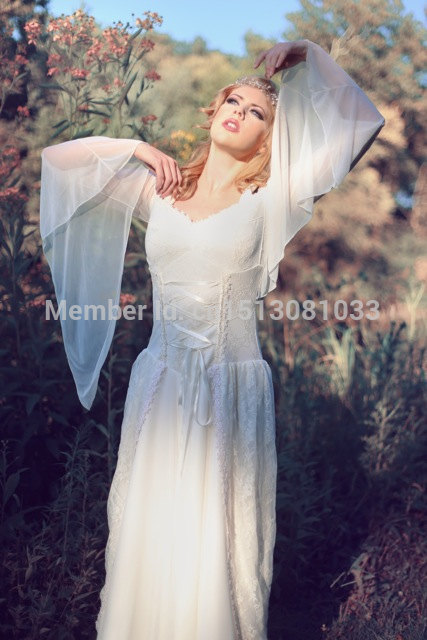 Aliexpress.com : Buy Artesia Medieval Wedding Gown Fantasy Corset ...