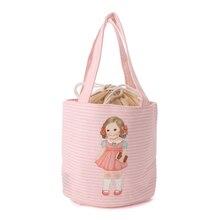 FGGS-Портативный Кукла Обед Мешок Тепловой Изоляцией Водонепроницаемый Кулер Пикник NEWColors: Розовый