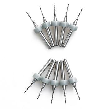 10pcs Hot Sale Portable Useful 0.8mm 10pcs/lot Carbide Micro Drill Bits CNC PCB Drill Bit Set Machine Tools & Accessories