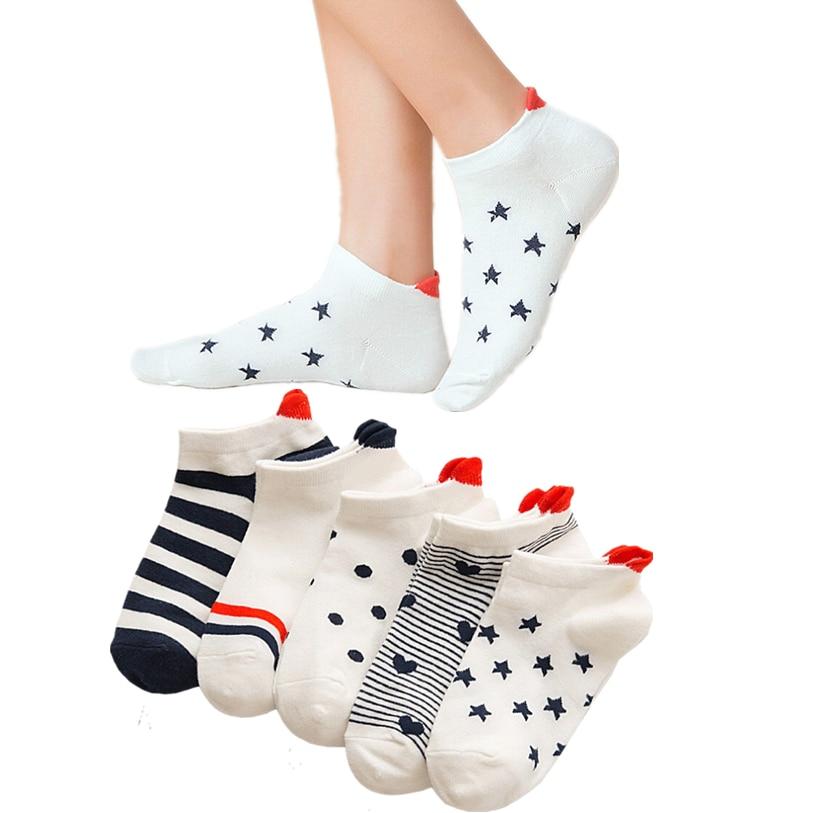 cute funny   socks   women cartoon happy   socks   cotton women's short   socks   meia dropshipping 30SP6