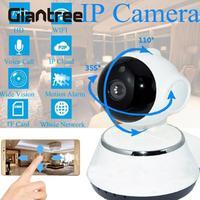 HD WiFi Wireless Baby Monitor Smart Night Vision Infrared 1 0MP IP Camera CCTV Alarm Home