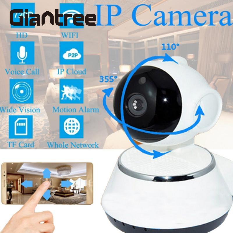 giantree HD WiFi Wireless Baby Monitor 1 million pixels IP Camera Smart Night Vision Infrared CCTV Alarm Home Security System camera 5 million pixels wifi fpv