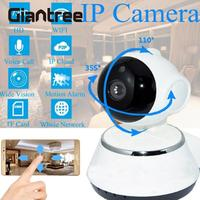 HD WiFi Wireless Baby Monitor Smart Night Vision Infrared 1 0MP IP Camera CCTV Alarm Home