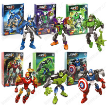 Single Sale Super Hero Marvel Avengers Iron Man Hulkbuster Figure Ironman Compatible LegoINGlys Building Brick Toys For Children 80pcs lot infinity war figure iron man marvel super hero avenger ironman set models building blocks toys children gift sy1103