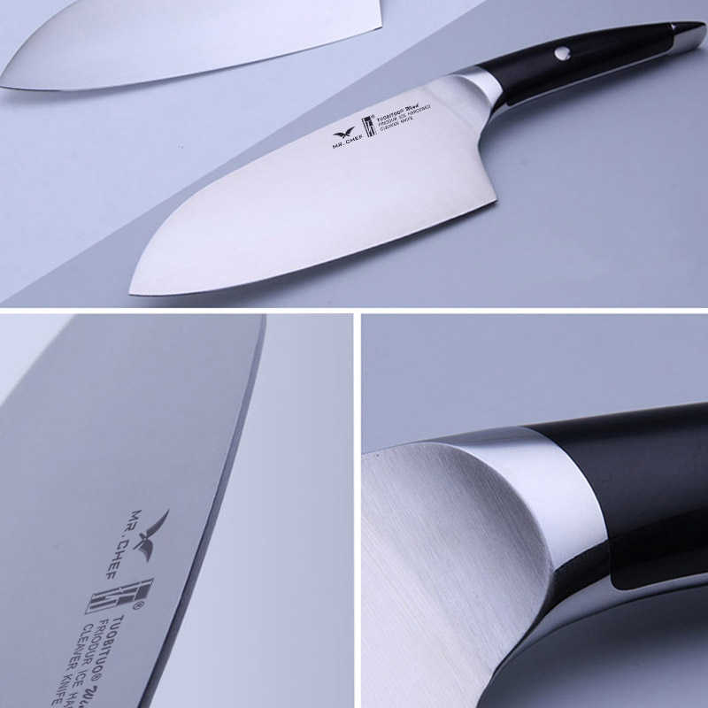 High Quality Kitchen Knife Kit 5pcs/set 8inch Chef Knife +7\