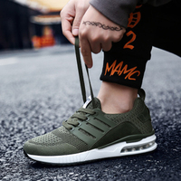 Summer Running Sneakers Men's Vulcanize Shoes Casual Lace Up Breathable Mesh Comfortable Adult Shoes Men Women Sport Sneakers