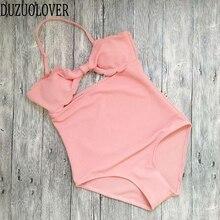 Swim wear Woman One Piece Swimsuit Monokini Swim Bikini set Dress Padded Women's Swimming Suit Summer Beach Wear