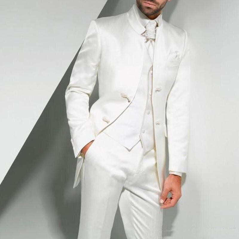 Черные смокинги жениха на одной пуговице с узором пейсли, шаль с отворотом для жениха, лучшие мужские костюмы, мужские свадебные костюмы(пиджак+ брюки+ жилет+ галстук - Цвет: 15