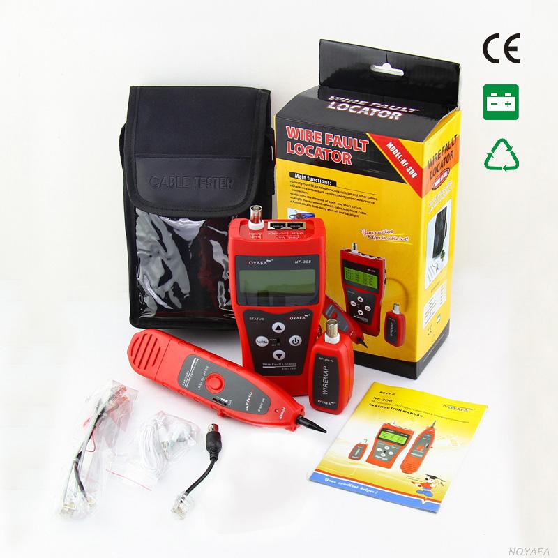 Prix pour D'origine Noyafa NF-308 Cat5 Cat6 RJ45 UTP STP Ligne Finder téléphone Fil Tracker Diagnostiquer Tone Outil Kit LAN Réseau Câble testeur