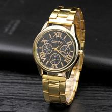 Relogio feminino New Famous brand Fashion Casual Women Watches Roman Numerals Quartz watch women stainless steel Dress watches