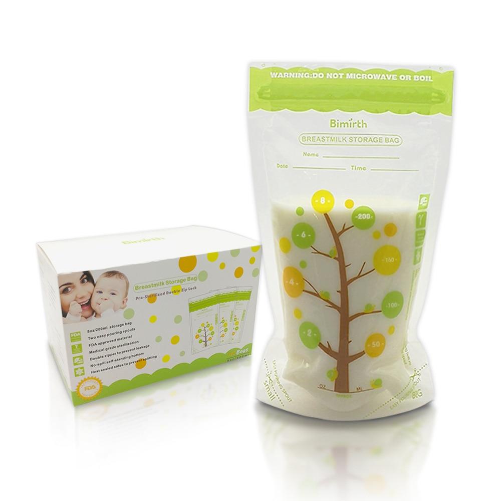 200ml*112Piece Baby Food Storage BPA Free Breast Milk Storage Bags To Freezer Store The Milk Bag