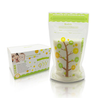 200ml*112Piece Baby Food Storage BPA Free Breast Milk Storage Bags To Freezer Store The Milk Bag