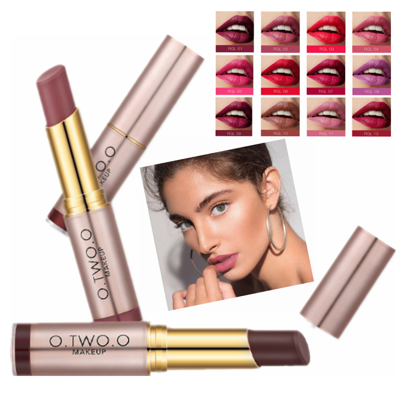 20 Color Red Lip Long Lasting Matte Lipstick Waterproof Nude