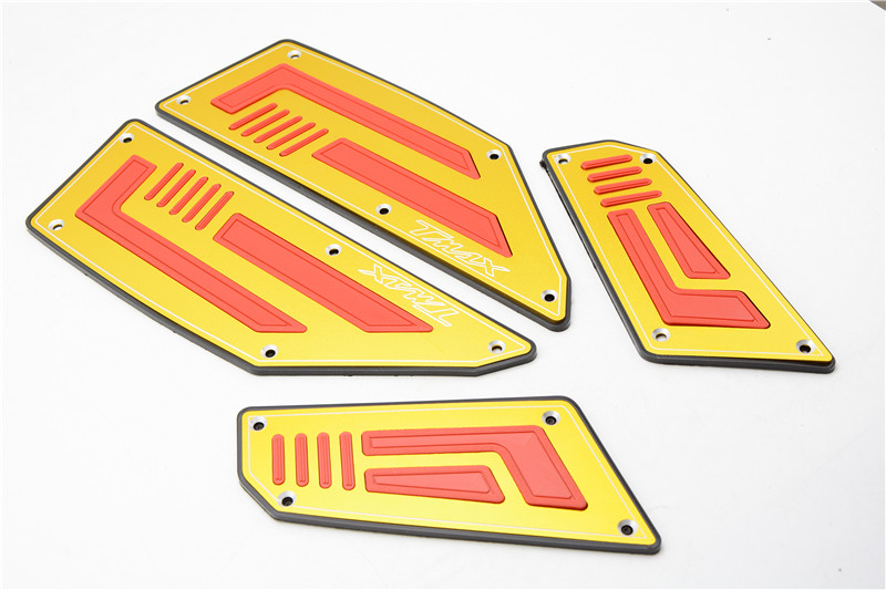 Motorcycle Footboard Steps Motorbike Foot For YAMAHA TMAX530 TMAX 530 T-MAX 530 08-14 09 10 11 12 13  Footrest Pegs Plate Pads