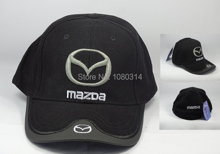 mazda mx5 baseball cap female race car visor hat men license plates hats