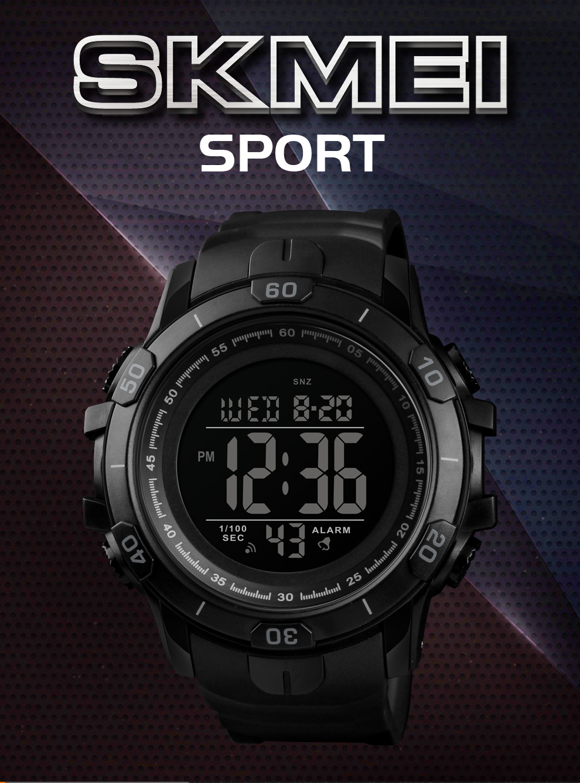 3caa70b4f707 2019 Nuevos Relojes Deportivos Para Hombre Moda Al Aire Libre Reloj Digital  Impermeable Hombres Relojes de pulsera Relogio masculino caliente