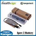 100% original kanger ipow 2 bateria de 1600 mah ego kanger kanger ipow ii com tela oled micro usb carregador de bateria