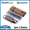 100% original kanger kanger ipow ipow 2 batería 1600 mah ego ii con pantalla oled micro usb cargador de batería kanger