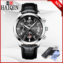 HAIQIN 2019 New Mens Watches Quartz Wristwatch Mens Top Brand Luxury Watch Men Sport Military Watch Clock Men Relogio Masculino цена 2017