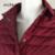 Ailoria 2016 Marca de Calidad Superior Largo Del Otoño Del Resorte de Abrigo de Cuello de Cobertura Mujeres Ultraligero 90% de Pato Blanco Abajo Chaquetas de la Capa