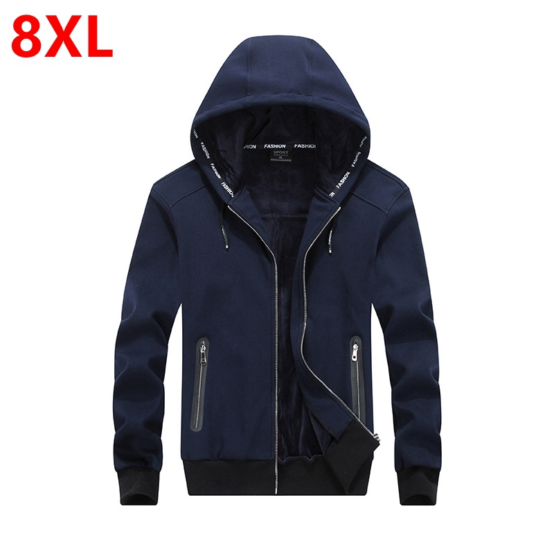 New winter hooded men with fat thickening cashmere s