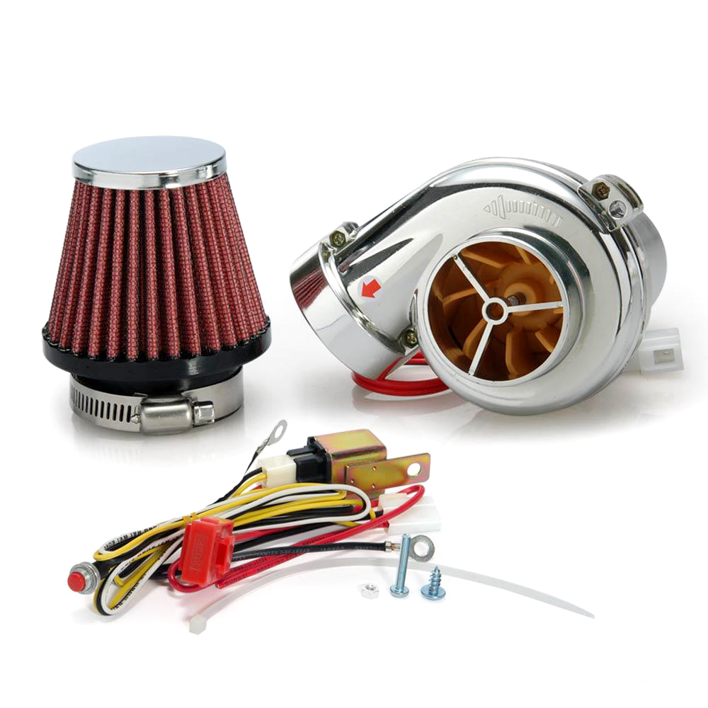 Universal U 650 Turbo: Universal Motorcycle Electric Turbocharger Suite Electric