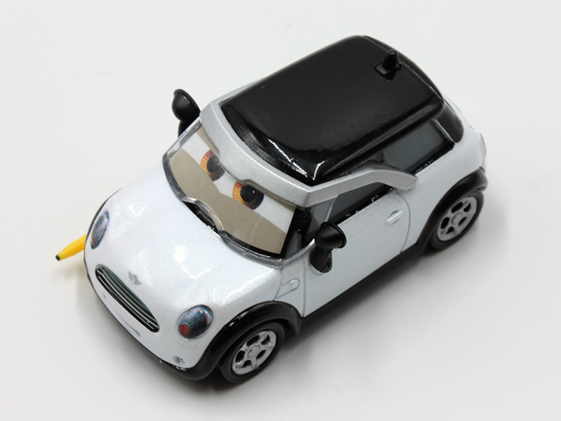 Disney Car Toys 6cm Mini Racing Car Alloy Model 1:55 Scale Diecast Metal Figure Toys for Childrens Christmas Gift