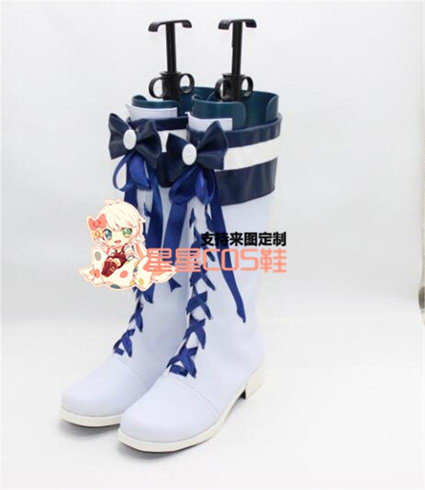 LoveLive!Sunshine!!  Sunshine! Tsushima Yoshiko yohane cosplay Shoes Boots Custom Made 3708