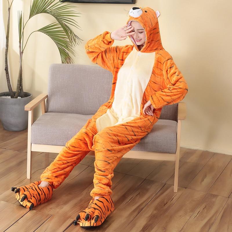 tiger adult onesie for women sleepwear (2)