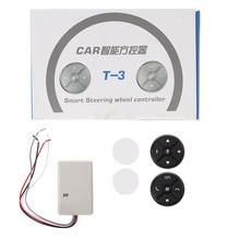 Универсальный Автомобильный руль DVD GPS Беспроводной программируемые кнопки Ключевые Дистанционное управление