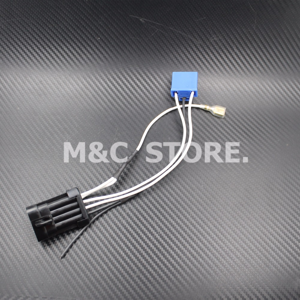 Motorcycle LED Headlamp Headlight Wiring Harness For Harley 14 later Touring and Trike models aliexpress com buy motorcycle led headlamp headlight wiring Custom Harley Wiring Harness at cos-gaming.co