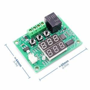 Image 2 - XH W1219 Dc 12V Dual Led Digitale Display Thermostaat Temperatuurregelaar Regulator Schakelaar Controle Relais Ntc Sensor Module