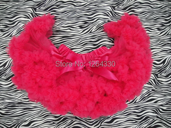 Fashion little girl red pettiskirts/ wholesale tutu petticoats /baby skirts free shipping PETS-014