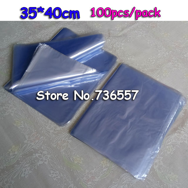 35 40cm Soft Transpa Molding Pvc Heat Shrinkable Bags Shrink Film Wrap Cosmetic Packaging Materials Plastic Bag In Paper Envelopes From Office