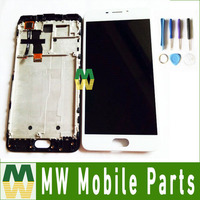 1PC Lot For Meizu M5 Note With Frame LCD Display Touch Screen Digitizer Assembly Black White