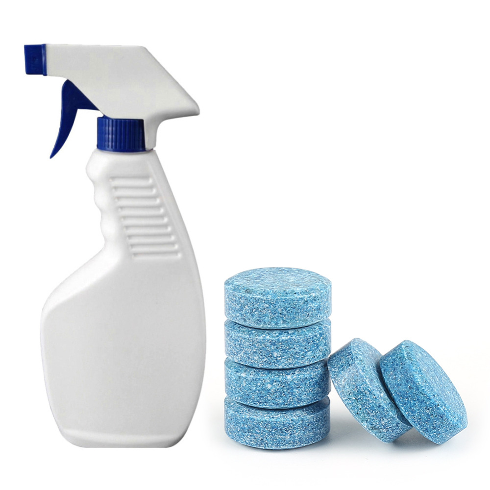 Bulk Price 10pcs Multifunctional Effervescent Spray Cleaner WITHOUT BOTTLE Home Outdoor Effervescent Concentrated Cleaner Tool in Outdoor Tools from Sports Entertainment