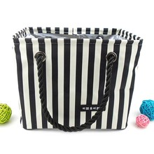 2017 Fringe pattern Shower bag Waterproof Wash baskets Bathroom travel storage Organizer Bathing Handbag laundry picnic basket