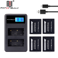 4x NP W126S NP W126S Battery + USB Charger for Fujifilm Fuji XT3 XA5 XT20 XT2 XH1 XT10 XE3 X100F xpro2 SHIP WITH TRACKING NUMBER