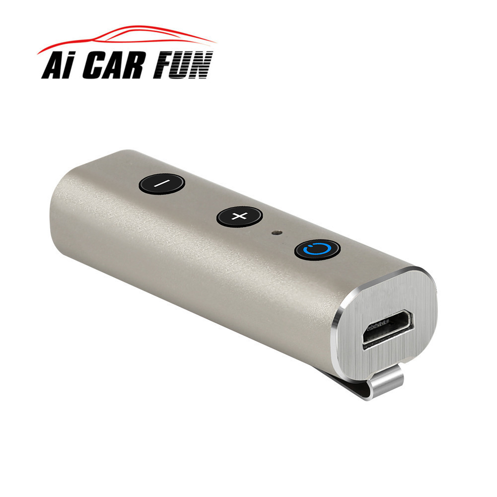 3.5mm Bluetooth Car Kit AUX 4.2 Bluetooth Stereo Music Receiver bluetooth aux All Metal Smart A2DP stereo HIFI Speaker bluetooth 2 1 a2dp audio stereo music receiver for 30pin bose dock speaker