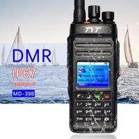 Applicabile Tyt md398 dmr digital walkie talkie impermeabile ip67 radio bidirezionale ad alta potenza 10 w ham radio ricetrasmettitore