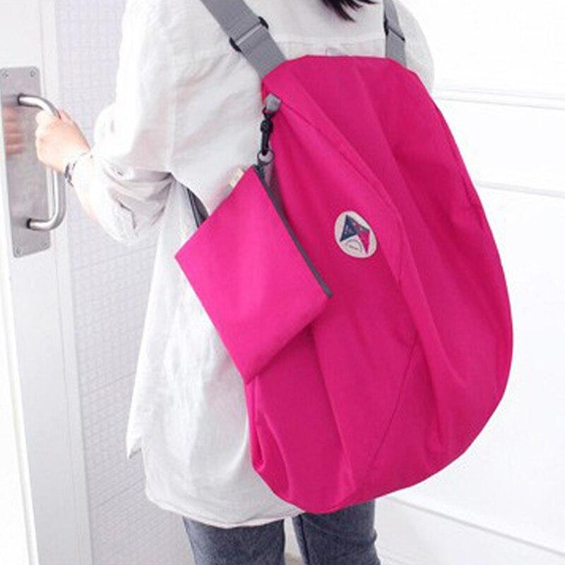 Легкий нейлоновый складной рюкзак, сумка для хранения на плечо, многофункциональная отделопосылка Личная сумка
