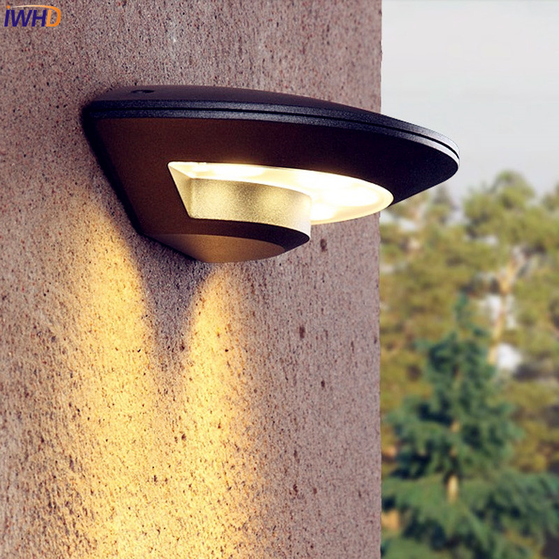 Us 34 69 30 Off Iwhd Outdoor Lighting Wall Light Waterproof Garden Porch Balcony Lights Led Lamp Exterior Luminaire Outside In