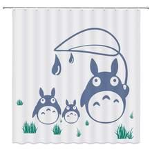Totoro Shower Curtain Aliexpresscom経由中国 Totoro Shower