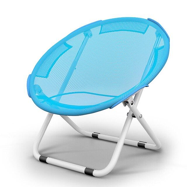80cm Dia Circular Folding Reclining Chair Lazy Garden Chair Sun Lounger  Beach Chair Outdoor Deck Chair