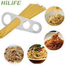 HILIFE кухонные аксессуары 1 шт. 4 отверстия Измеритель для спагетти макаронная лапша мера из нержавеющей стали