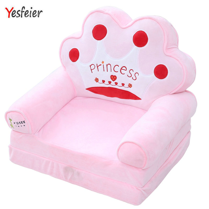 Livraison directe mignon animaux settee doux en peluche jouets en peluche bébé siège oreiller coussin cadeau d'anniversaire pour les enfants