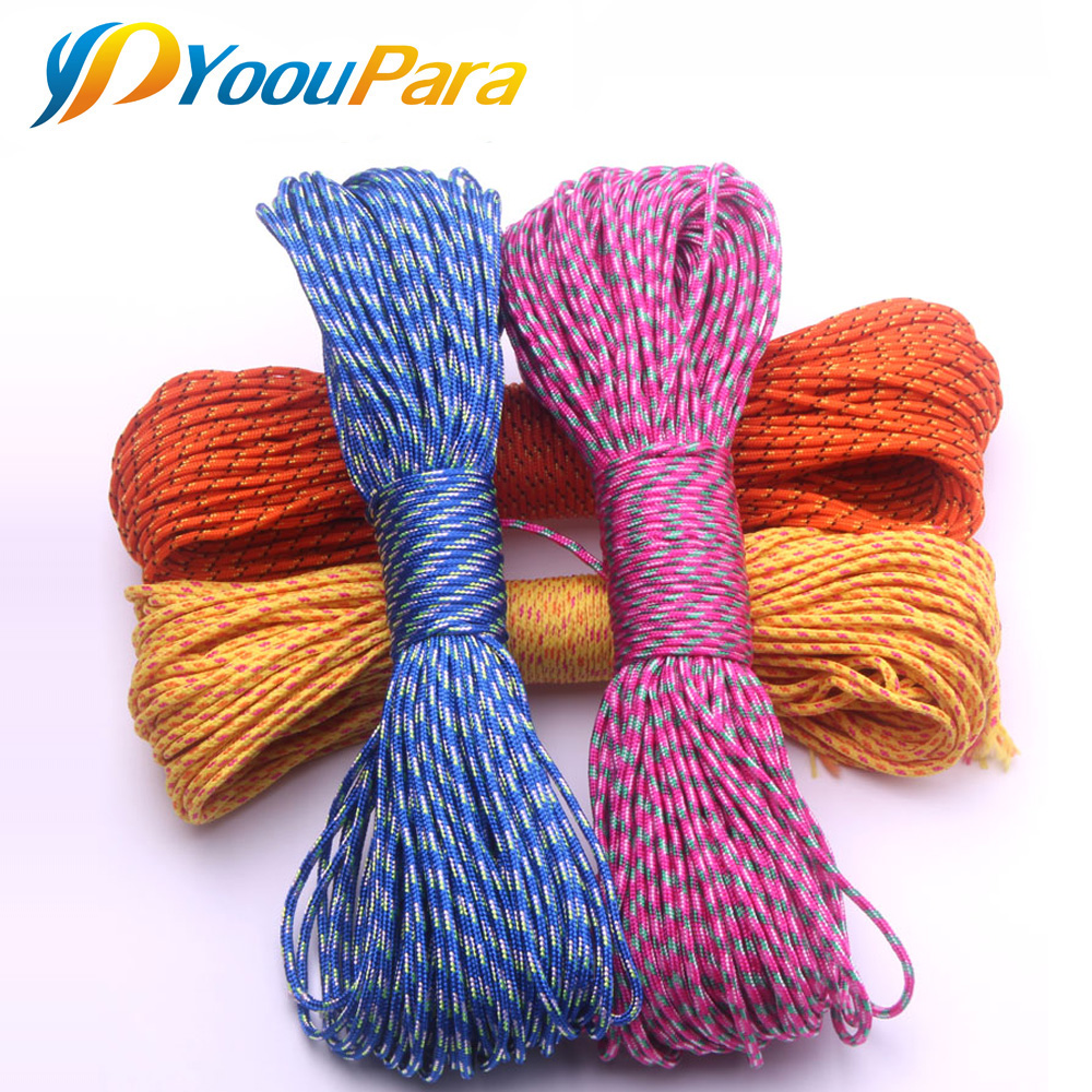 Paracord 2mm 100 FT One Stand Cord Parakord Rope Paracorde Cord For Jewelry